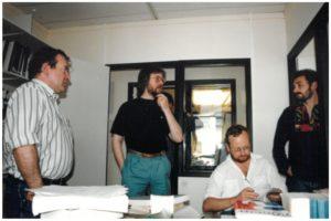 A-gleiz da zehoù Martial Ménard, Jean-Yves Lagadeg, Herve Bihan ha Fulup Jakez