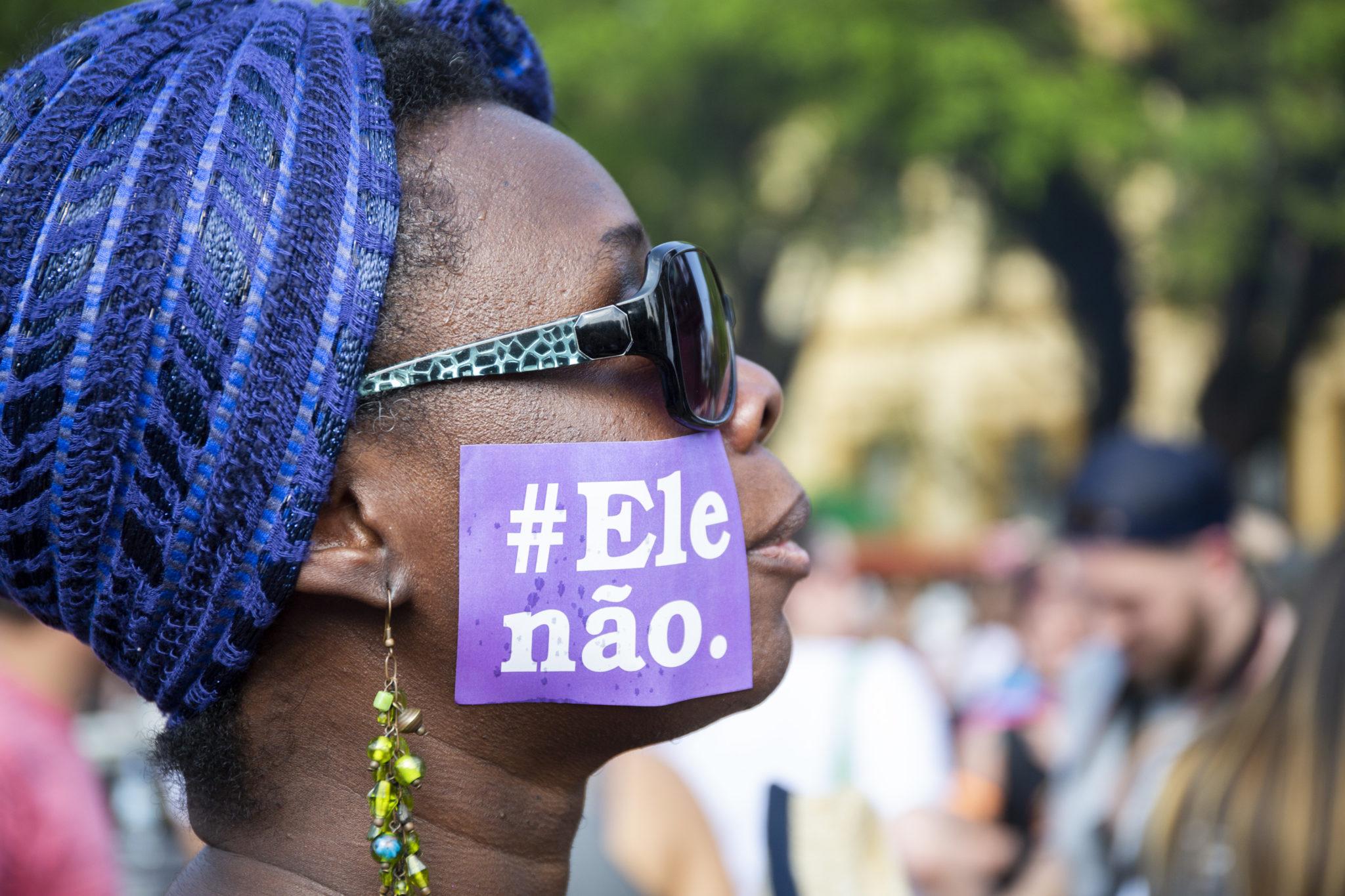 Ar Vraziliadezed a zo bet e penn an emsav #Ele Não a-enep Bolsonaro e 2018
